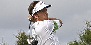 Griffin takes narrow lead at Australian PGA
