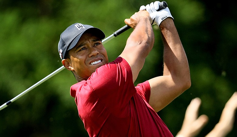 Tiger Woods during the Tour Championship in September.
