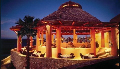 Esperanza Resort at night.