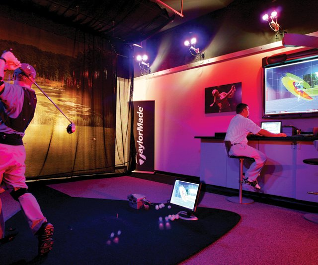 TaylorMade Performance Lab at Reynolds Plantation.