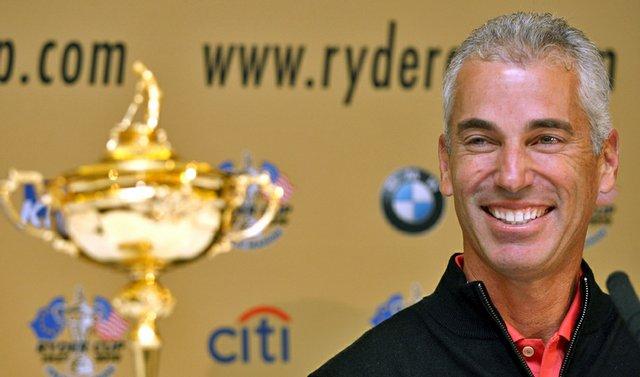 U.S. Ryder Cup captain Corey Pavin