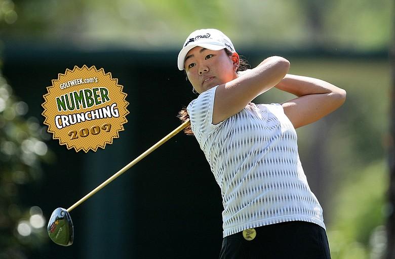Mina Hariage ended the season ranked No. 56 in the Golfweek/Sagarin Performance Index.