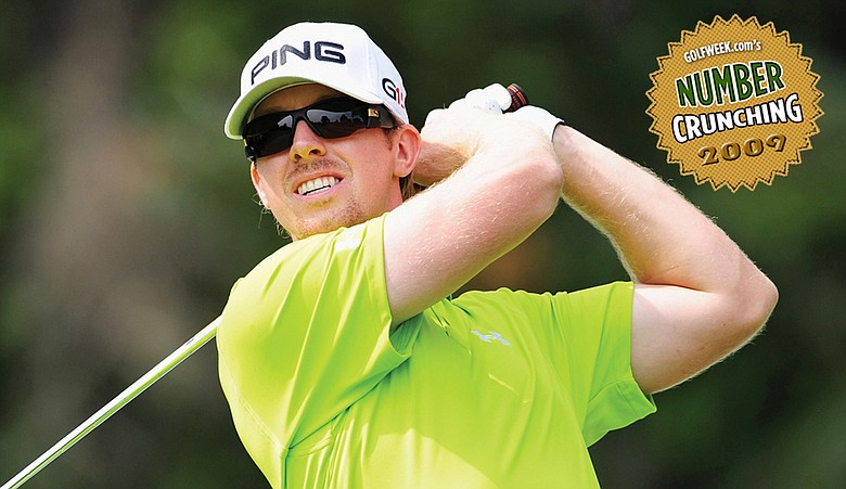 In just a year, Hunter Mahan improved his standing in putting average from 134th to 46th.