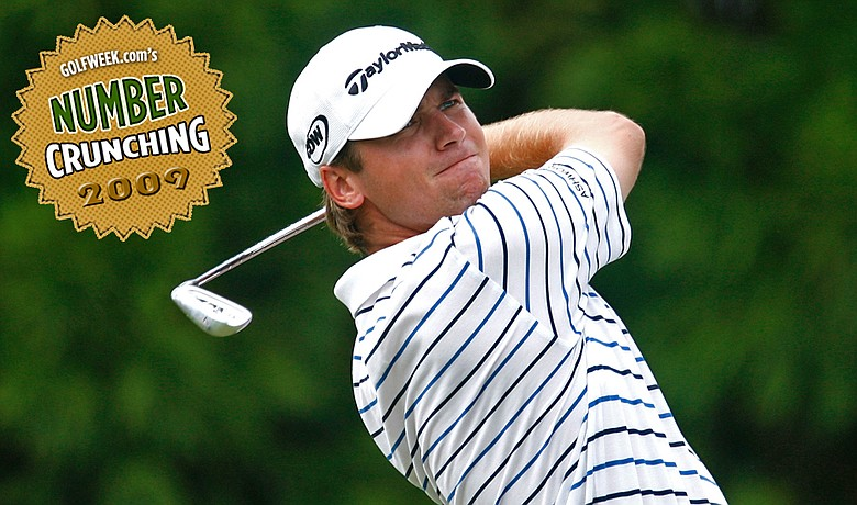 A few minor changes with his swing and equipment made 2009 a great year for Sean O'Hair.