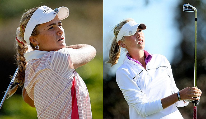 Alexis Thompson and Jessica Korda can be found on the Florida Orange Blossom Circuit this winter.