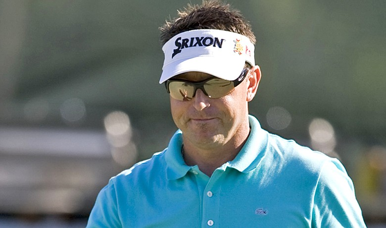 Robert Allenby is playing in the Sony Open with an injured ankle.