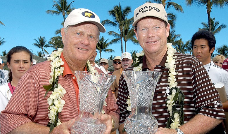 Jack Nicklaus and Tom Watson hope to reclaim the Champions Skins Game title they last won in 2007.