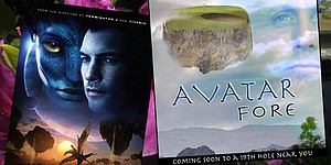 Monday Scramble: When golf meets 'Avatar'