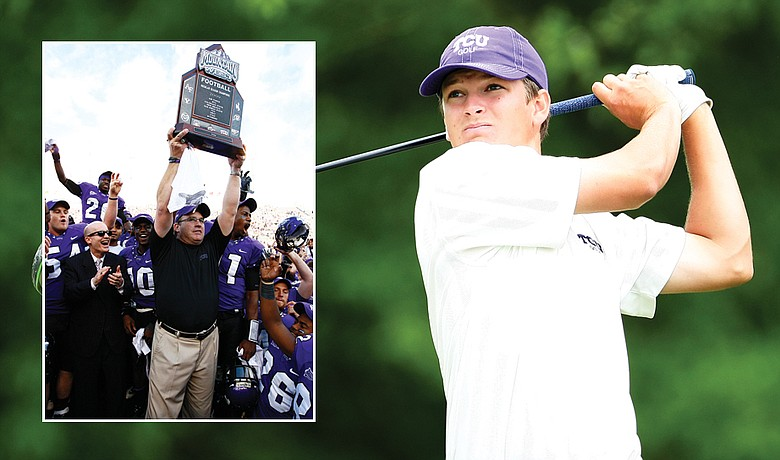 Feeding off TCU's football success, Travis Woolf and the golf team put together their own fantastic fall.