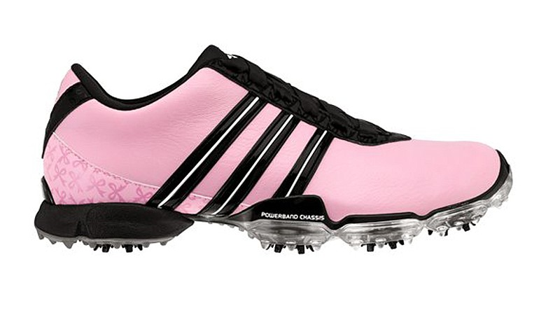 Paula Creamer's signature shoe presented by Adidas.
