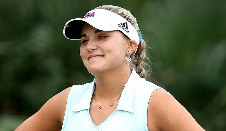 Alexis Thompson beat Taylor Collins, 3 and 1, in the final match of the Ione D. Jones/Doherty Championship.