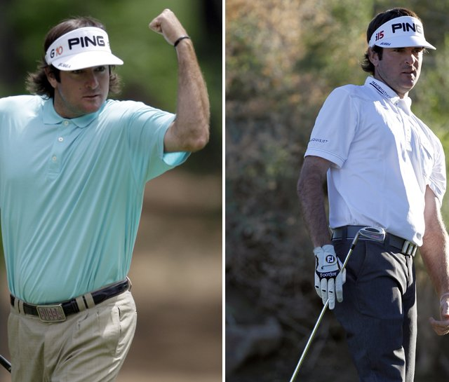 Bubba Watson updates his look with Travis Mathew