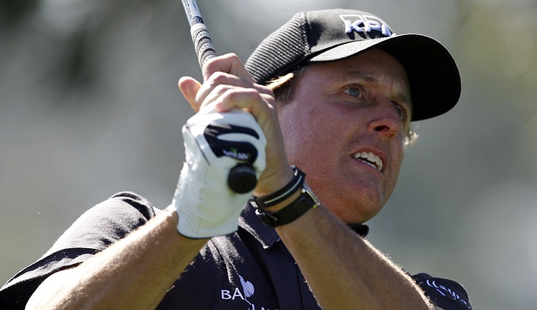 Phil Mickelson is using Ping Eye 2 wedges at the Farmers Insurance Open that were made 20 years ago.