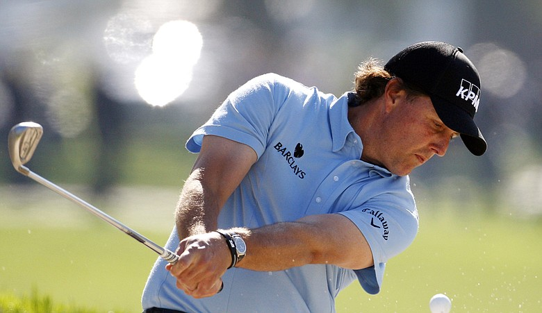 "Phil Mickelson responded to accusations of ""cheating"" by using old Ping Eye 2 wedges at the Farmers Insurance Open."