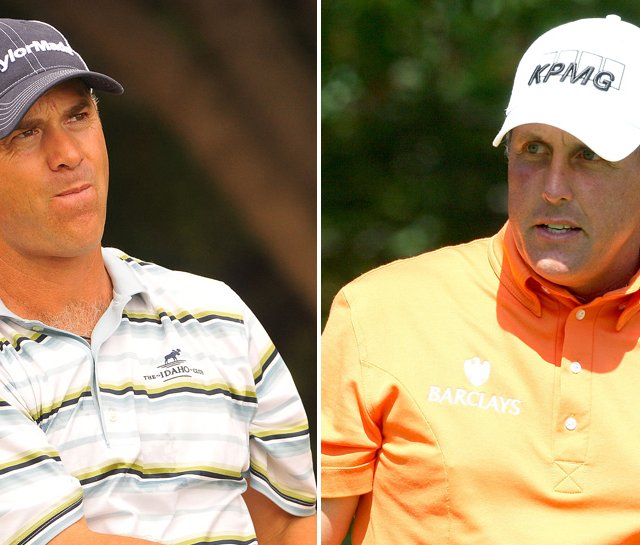 Scott McCarron apologized to Phil Mickelson on Tuesday.
