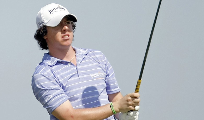 Rory McIlroy won the 2009 Dubai Desert Classic, his first professional victory.