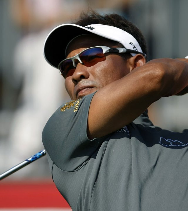 Thongchai Jaidee is looking for his fifth European Tour victory.