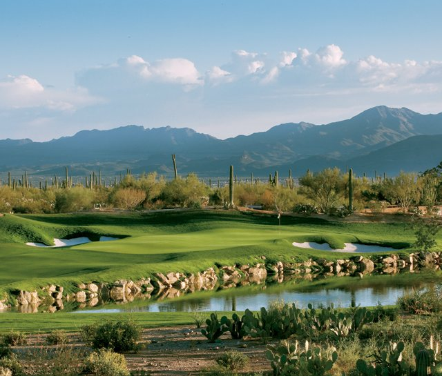 No. 3 on the Saguro nine at the Ritz-Carlton Golf Course Dove Mountain