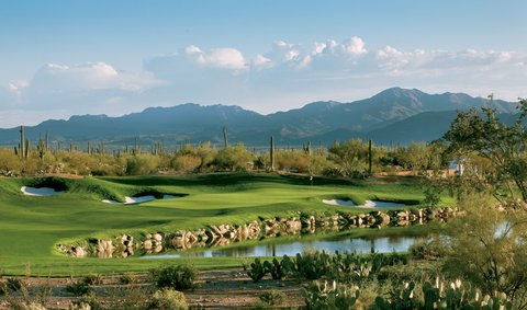 No. 3 on the Saguro nine at the Ritz-Carlton Golf Course Dove Mountain
