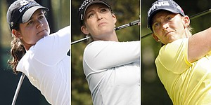 Ochoa, Kerr, Stanford share lead at HSBC