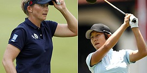 Stanford, Kim tied atop HSBC