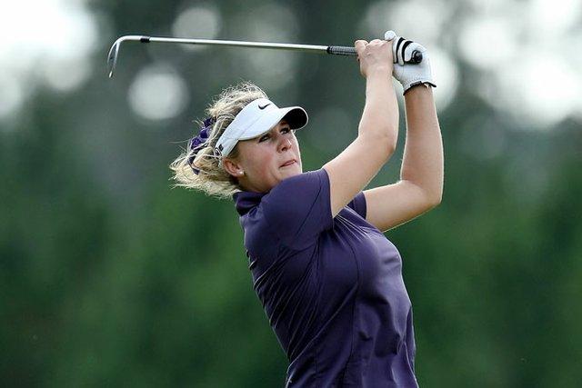 Amanda Blumenherst won the LPGA Qualifying School last September.