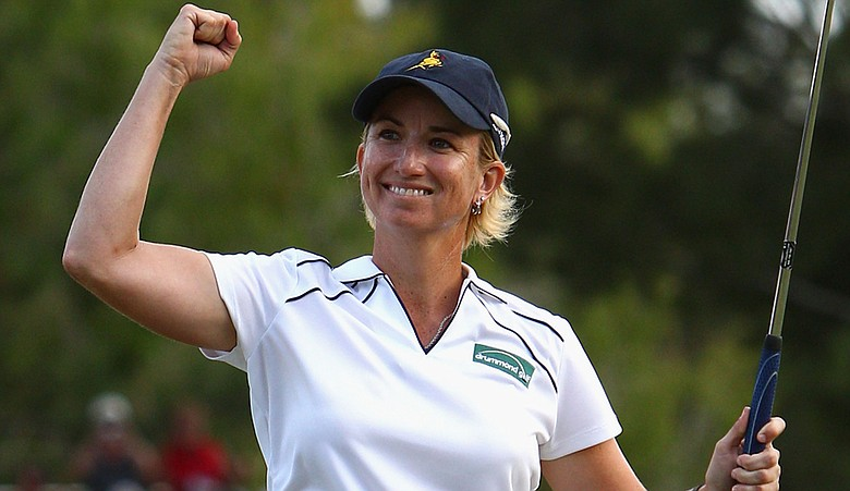 Karrie Webb won her seventh Australian Ladies Masters title in 2010.
