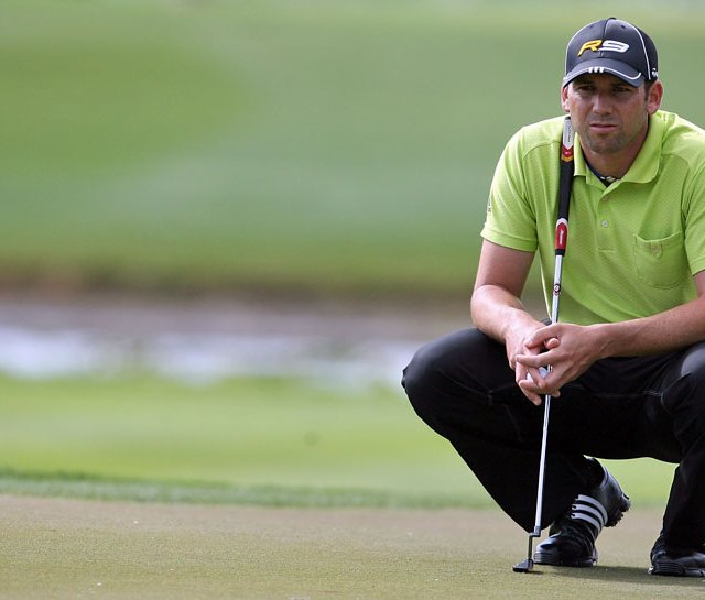 Sergio Garcia used a new TaylorMade Rossa Daytona putter during last week&#39;s Honda Classic. 