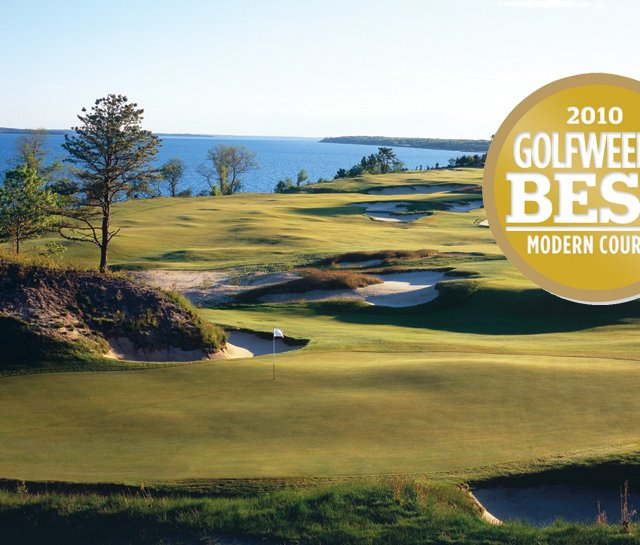 Sebonack Golf Club, ranked No. 6 on Golfweek's Best Modern Courses.