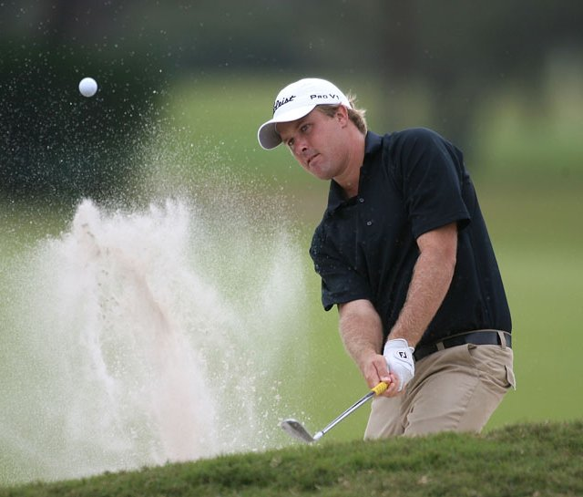 Alistair Presnell opened with a 67 Thursday at WGC-CA Championship at the TPC Blue Monster at Doral.