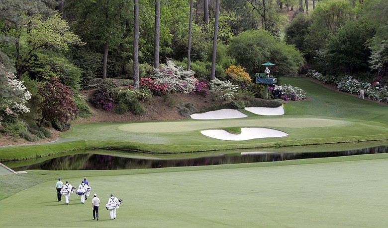 The Masters will be broadcast in 3-D this year.