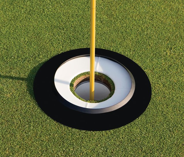 Big Cup essentially doubles the size of the cup and forces golfers to generate optimum speed on their putts.