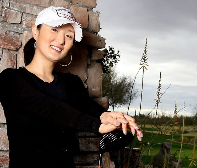 Grace Park photographed by Golfweek at Grayhawk Golf Club in Scottsdale, Ariz.