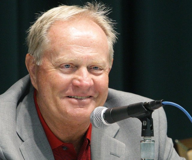 Jack Nicklaus said last week in Morocco that up-and-coming U.S. players need to play more match-play tournaments to learn how to win. (File photo)