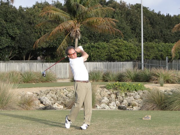 Chip Lutz also won the Golfweek Senior National Championship in January. (File photo)