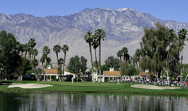 No. 5 on the Dinah Shore Tournament Course at Mission Hills Country Club.