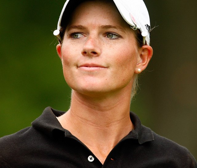 Jean Reynolds at the 2009 U.S. Women&#39;s Open.