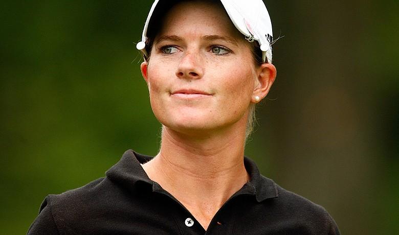 Jean Reynolds at the 2009 U.S. Women's Open.