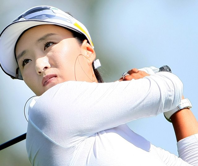 2004 Kraft champion Grace Park is seven shots back of leader Karen Stupples entering Sunday's final round.