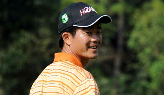 Liang Wenchong won the Luxehills Chengdu Open on the OneAsia tour April 4.