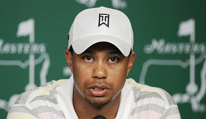 Tiger Woods addressed the media Monday afternoon at Augusta National.
