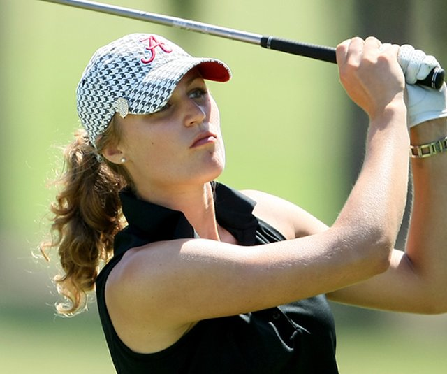Alabama junior Camilla Lennarth