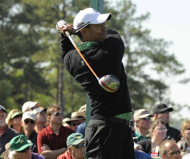 Tiger Woods has a new driver in the bag this week at the Masters.