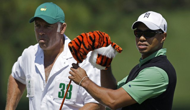 Tiger Woods shot 70 on Friday and is two shots back of the leaders entering the weekend.