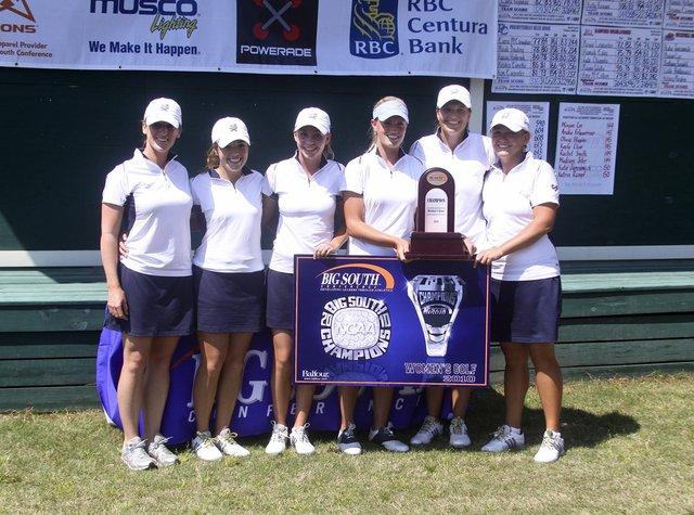 Charleston Southern won its sixth Big South title.