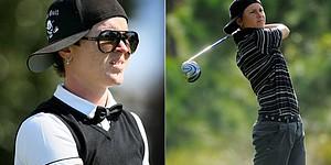 Sam White puts unique twist on golf fashion