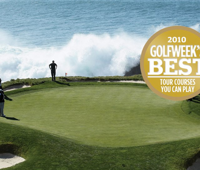 No. 7 at Pebble Beach, No. 1 on Golfweek's Best Tour Courses You Can Play (2009-10)