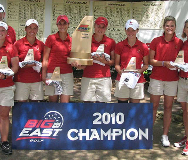Louisville won the Big East Conference Championship on April 20.