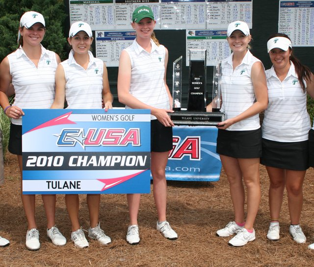 Tulane wins its second straight Conference USA title.