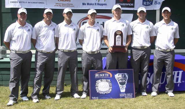 Coastal Carolina won the Big South title April 21.